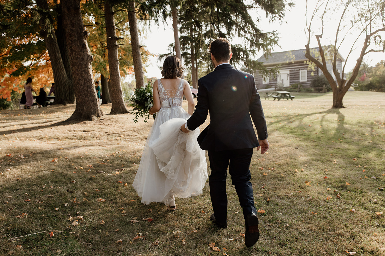 Boho Toronto Wedding Covid