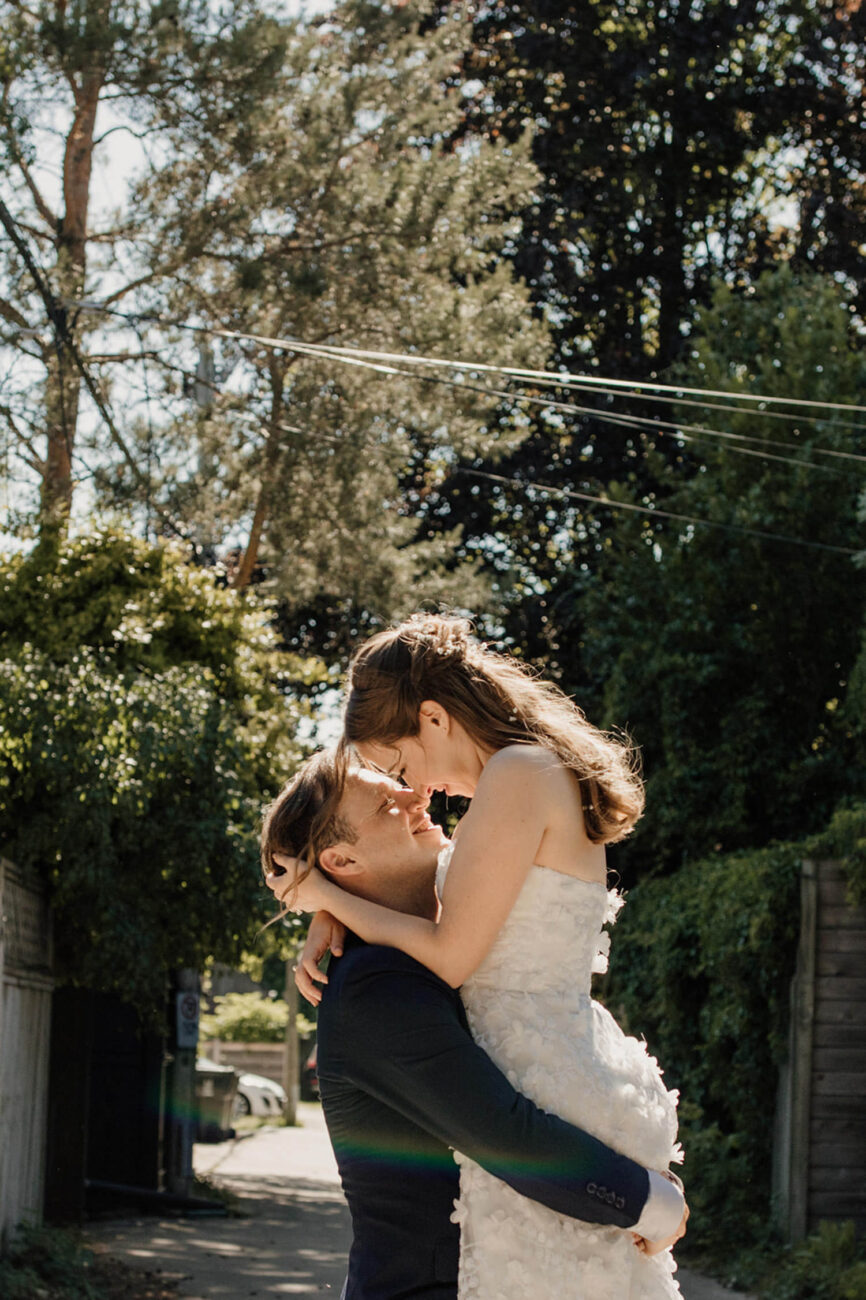 Intimate Backyard Wedding Toronto